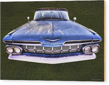 Chevrolet Wood Print by Jerry Golab