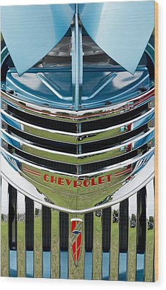 Chevrolet Smile Wood Print