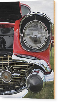Wood Print featuring the photograph Chevy Bel Air by Glenn Gordon