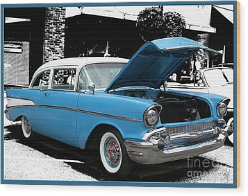 Wood Print featuring the photograph Chevy Love by Victoria Harrington
