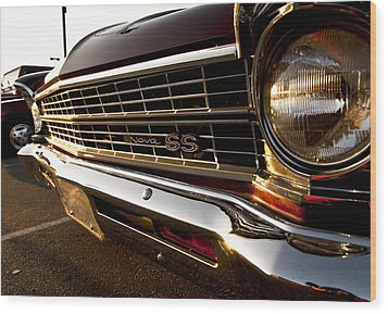 Chevy Nova Ss Wood Print by Cale Best