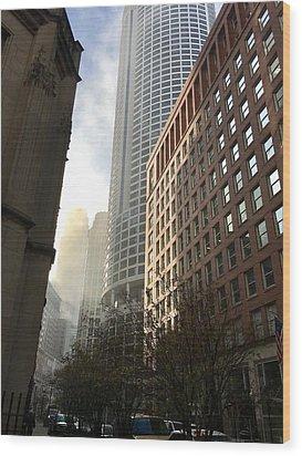 Chicago Light 2 Wood Print