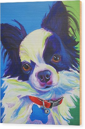 Chihuahua - Esso-gomez Wood Print by Alicia VanNoy Call