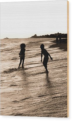 Wood Print featuring the photograph Childhood Memories by Laura DAddona