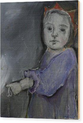 Childsdancer #3 Wood Print