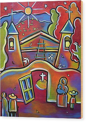 Chimayo Light Wood Print