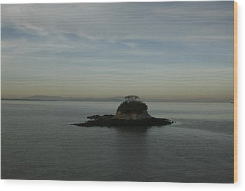 China Camp Island Wood Print