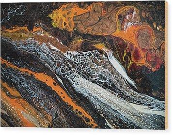 Chobezzo Abstract Series 1 Wood Print