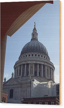 Wood Print featuring the photograph Chopping St Pauls by Jez C Self