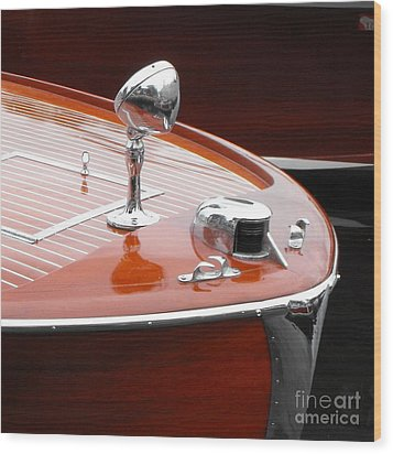 Chris Craft Utilty Wood Print