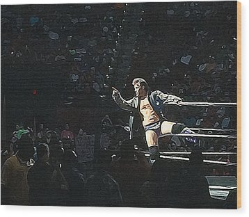 Chris Jericho Y2j Wood Print
