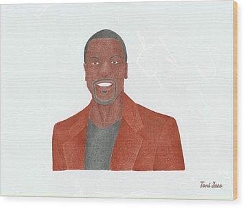 Chris Tucker Wood Print