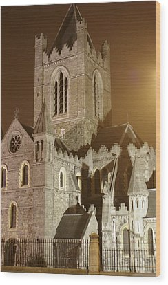 Christ Church Dublin Ireland Wood Print