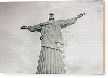 Christ The Redeemer Wood Print by Andrew Matwijec