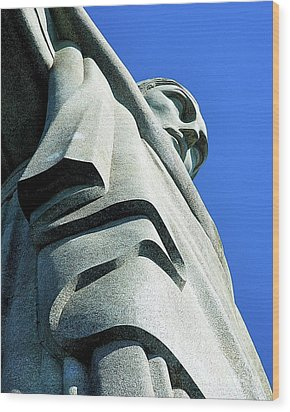 Christ The Redeemer Wood Print
