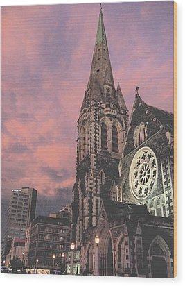 Christchurch I Wood Print