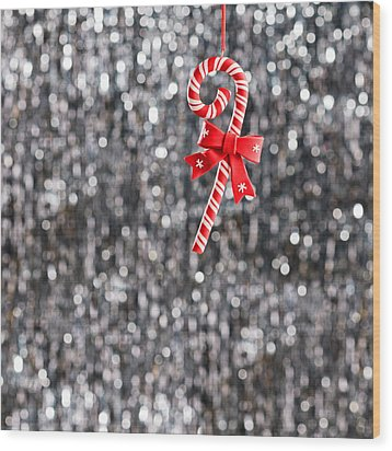 Wood Print featuring the photograph Christmas Candy  by Ulrich Schade