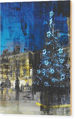 Wood Print featuring the photograph Christmas Eve by LemonArt Photography