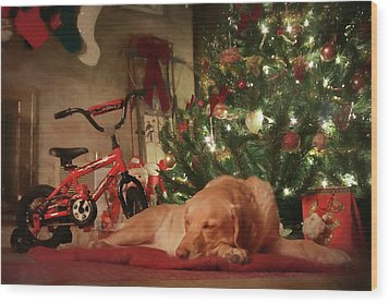 Wood Print featuring the photograph Christmas Eve by Lori Deiter