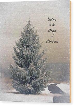 Christmas Magic Wood Print