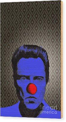 Christopher Walken 1 Wood Print