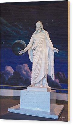 Christus Wood Print