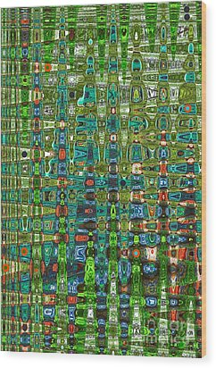 Wood Print featuring the photograph Chromosome 22 by Diane E Berry