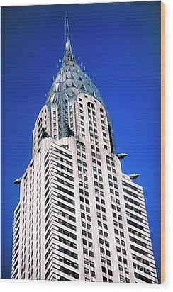 Chrysler Building Wood Print by John Greim
