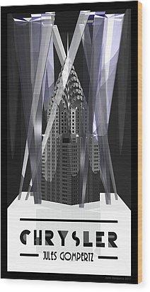 Chrysler Wood Print