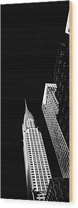 Chrysler Nights Wood Print