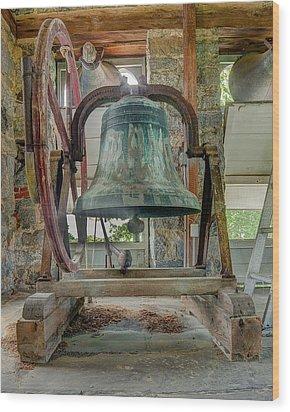 Church Bell 1783 Wood Print by Jim Proctor