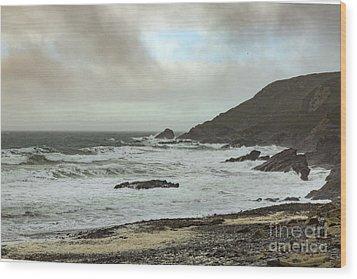 Wood Print featuring the photograph Church Cove Gunwallow by Brian Roscorla