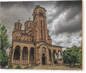 Church Of Saint Mark Wood Print