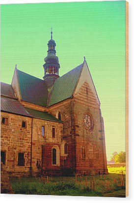 Church Of The Blessed Virgin Mary And St. Florian In The Wachock Wood Print