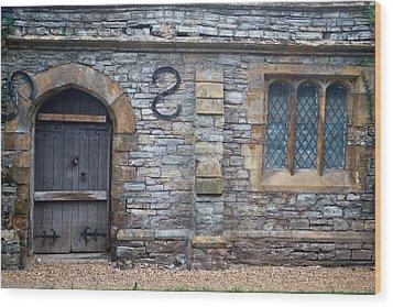 Church Of The Holy Trinity Stratford Upon Avon 5 Wood Print by Douglas Barnett