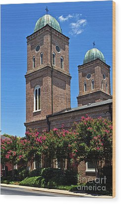 Wood Print featuring the photograph Church Of The Immaculate Conception One by Ken Frischkorn