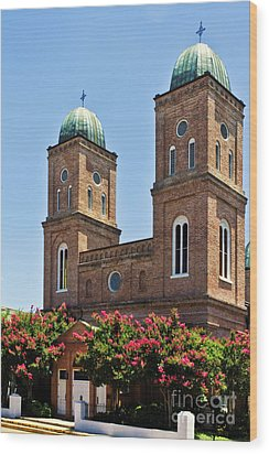 Wood Print featuring the photograph Church Of The Immaculate Conception Three by Ken Frischkorn