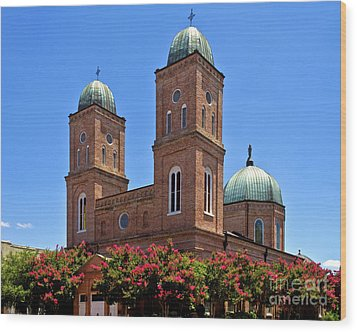 Wood Print featuring the photograph Church Of The Immaculate Conception Two by Ken Frischkorn