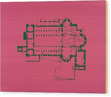 Church Of The Nativity Wood Print by Jessica Pope