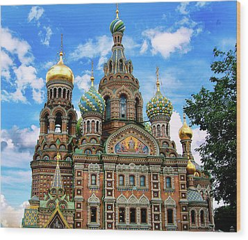 Church Of The Spilled Blood Wood Print by Gary Little
