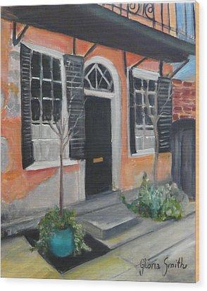 Church Street Wood Print