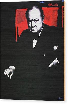 Churchill Wood Print