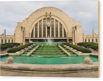Cincinnati Museum Center Picture Wood Print by Paul Velgos