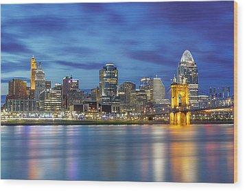 Cincinnati, Ohio Wood Print