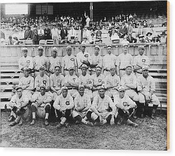 Cincinnati Reds, Baseball Team, 1919 Wood Print by Everett