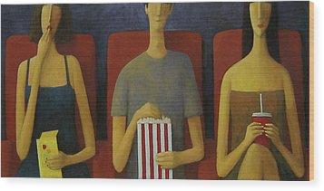 Cinema Wood Print