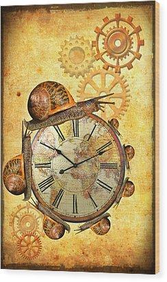Circle Wood Print