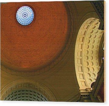 Circular Vision Wood Print