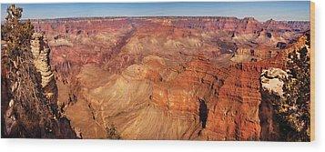 City - Arizona - Grand Canyon - The Great Grand View Wood Print by Mike Savad