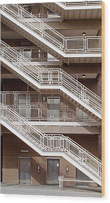 City 1060 Wood Print